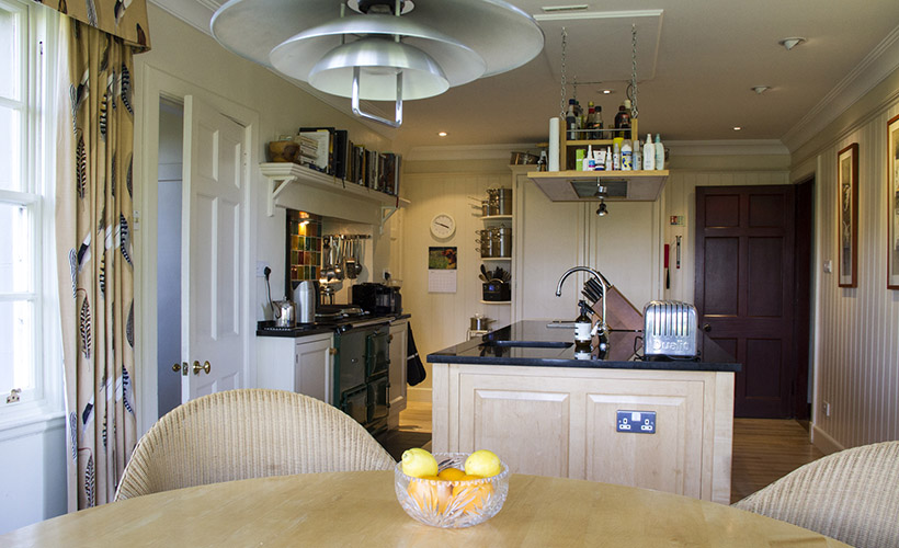 Duirinish Lodge, Plockton, kitchen
