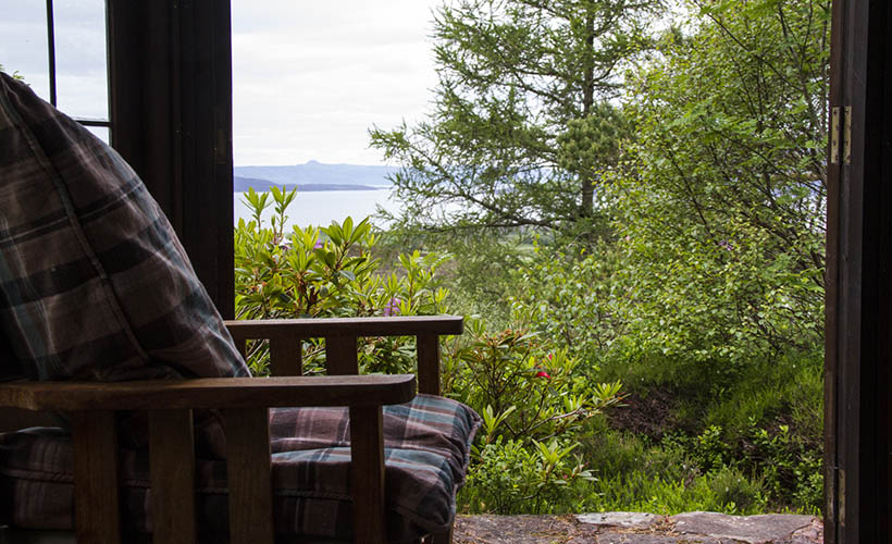 Duirinish Lodge, Plockton, Summer House views